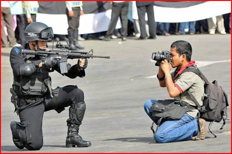 журналист фото